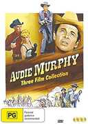 Audie Murphy Three Film Collection [Import]