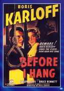 Before I Hang , Boris Karloff