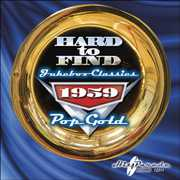 Hard to Find Jukebox Classics 1959: Pop Gold /  Various , Various Artists