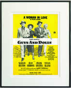 A Woman in Love Framed Sheet Music
