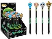 FUNKO PEN TOPPER: Rick and Morty 16PC (One Figure Per Purchase)