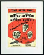 Time After Time Framed Sheet Music