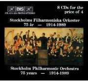 75 Year: 1914-1989 , Stockholm Philharmonic Orchestra