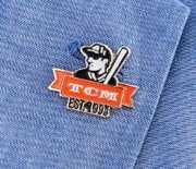 TCM Backlot Baseball Pin