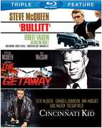 Bullitt /  The Getaway /  The Cincinnati Kid , Steve McQueen