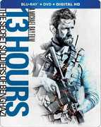 13 Hours: The Secret Soldiers of Benghazi (Steelbook) , John Krasinski