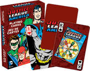 DC Comics- Retro Justice League America Playing Cards Deck