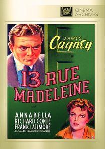 13 Rue Madeleine , James Cagney