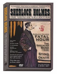 Sherlock Holmes: The Archive Collection , Arthur Wontner