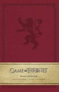 House Lannister Ruled Pocket Journal (Game of Thrones)