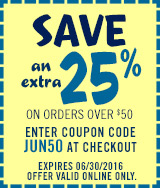 Enter coupon code: JUN2550