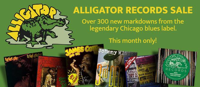 Alligator Records Sale
