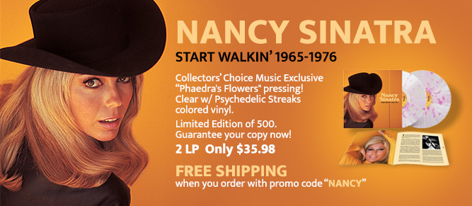 Nancy Sinatra - Exclusive Vinyl Pressing