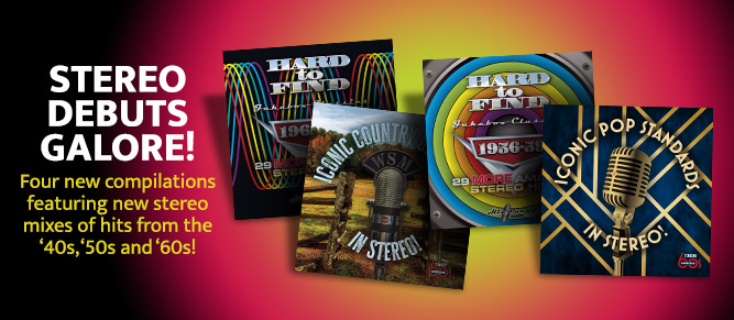 Stereo Debuts Galore on 4 brand new CD comps!