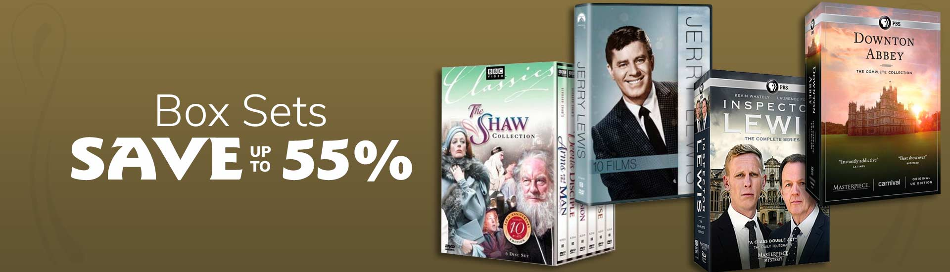 Box Sets Sale, Save up to 55%