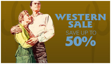 Western Sale, Save up to 50%