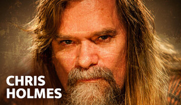 Chris Holmes - Mean Man on DVD and Blu-ray!