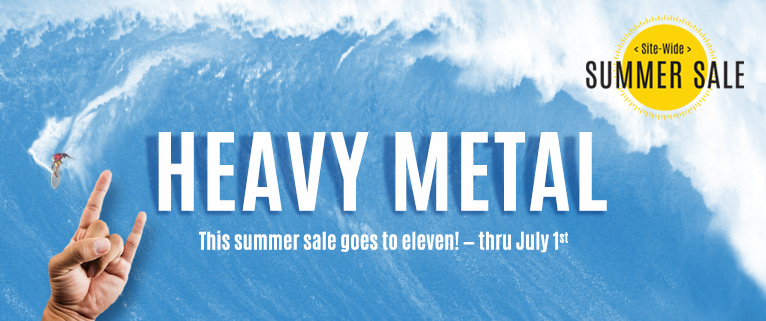 Heavy Metal Sale