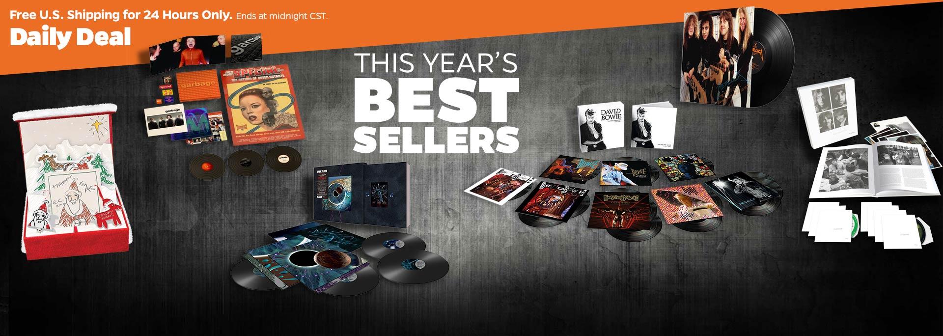 best sellers of 2018