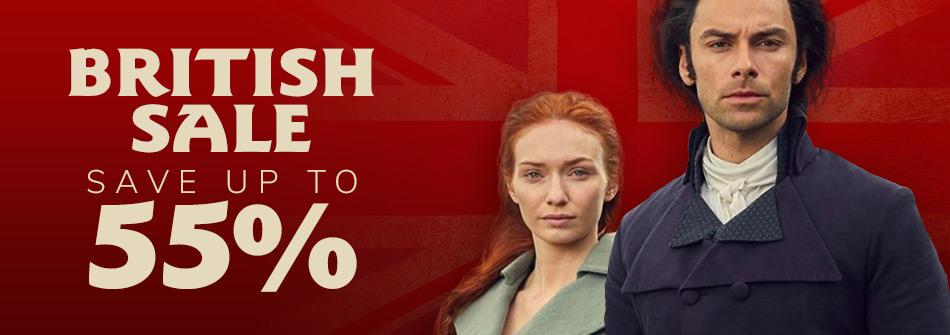 Big British Sale Save up to 35%