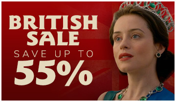 British Sale, Save up to 35%