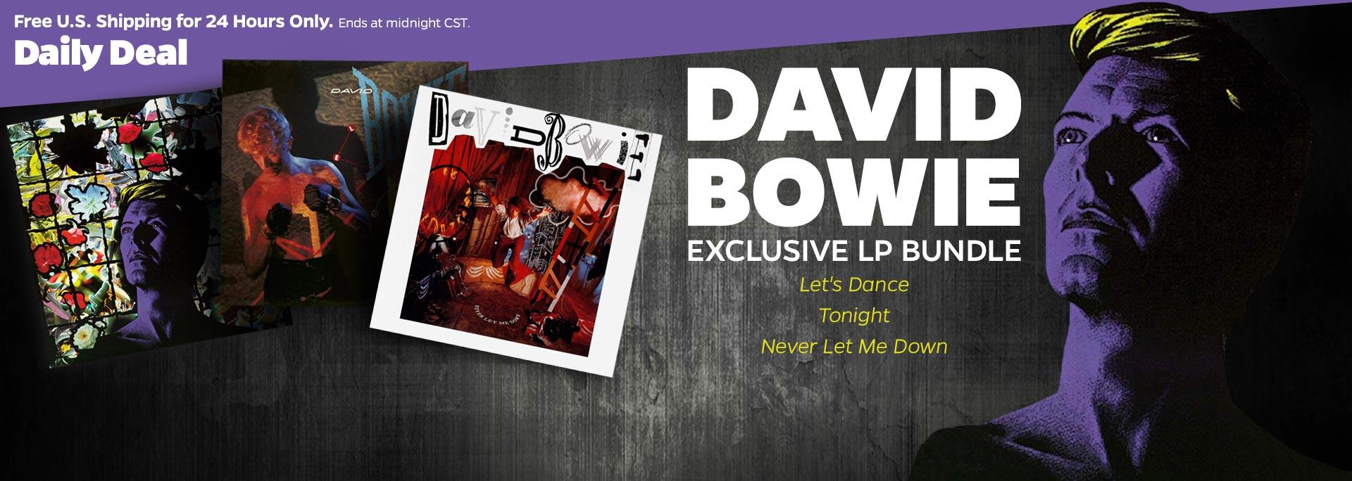 Bowie Lp Bundle