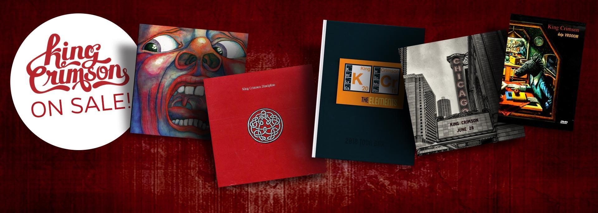 King Crimson On Sale