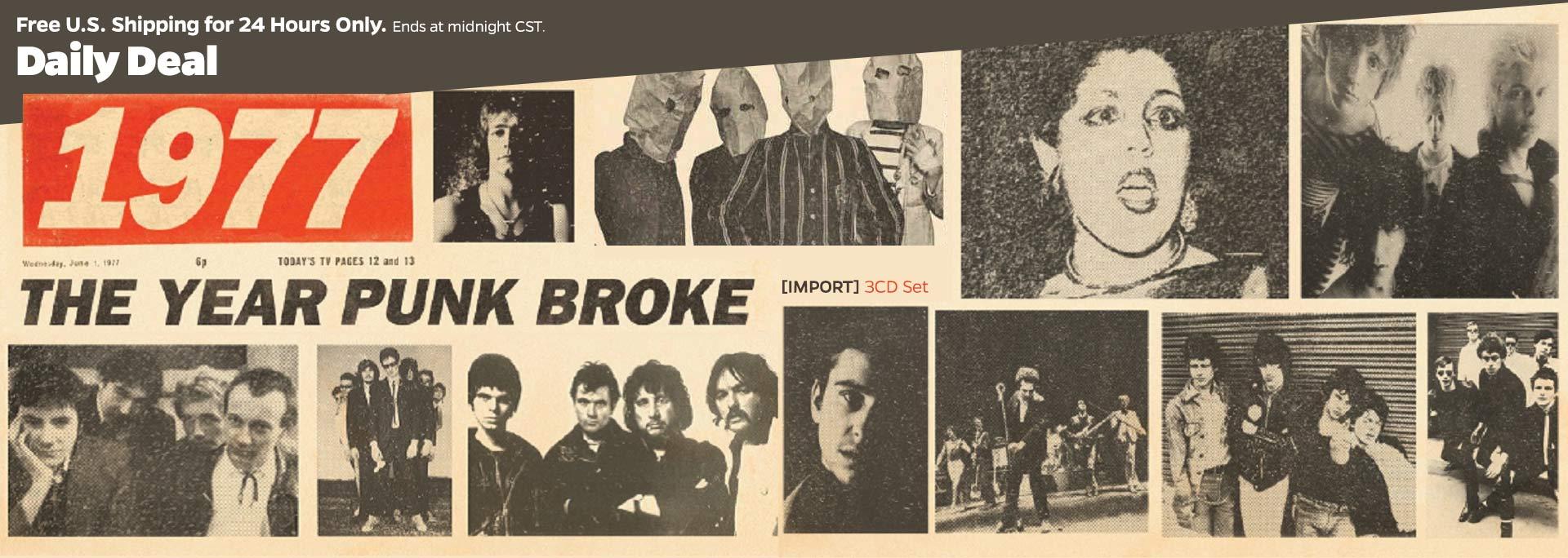 THe YEar Punk Broke 1977