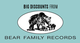 Bear Family Records Sale