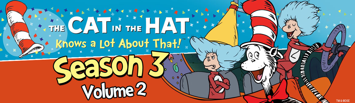 The Cat in the Hat: Season 3 Volume 2