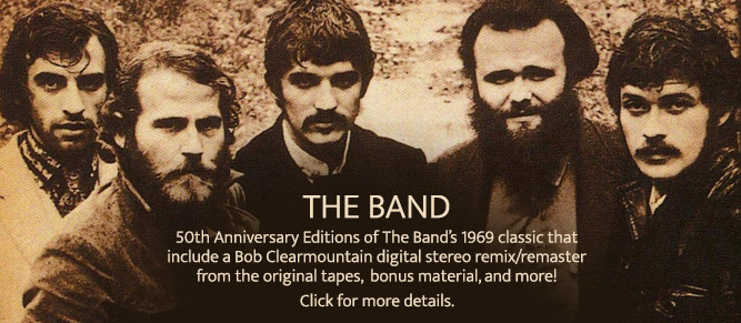 The Band 50th Anniversary Editions!