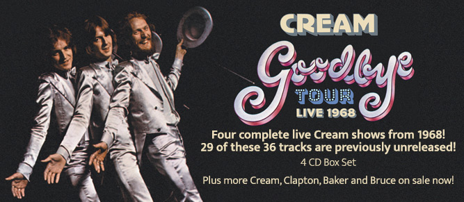 Cream - Goodbye Tour - Live 1968