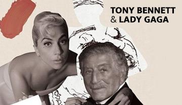 Tony Bennett + Lady Gaga!