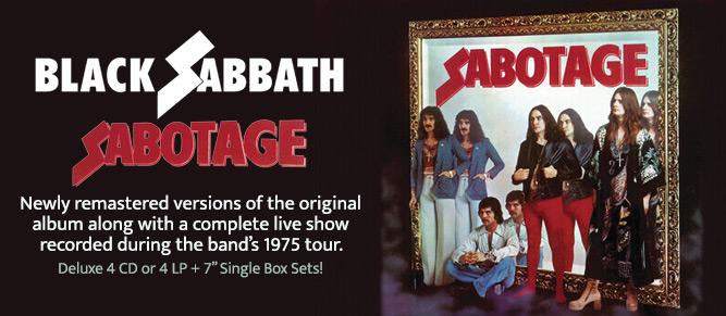 Black Sabbath - Sabotage Deluxe Editions