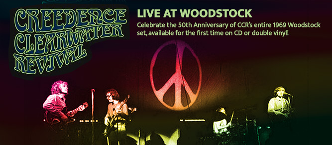 CCR Live at Woodstock!