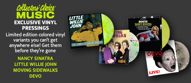 Exclusive Vinyl Pressings! Only From CCM!