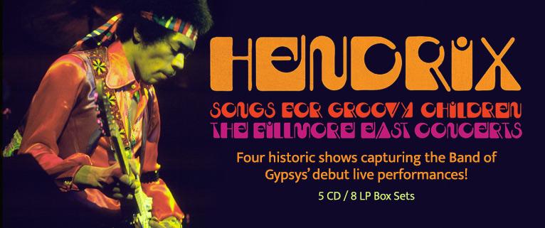 Jimi Hendrix - Songs For Groovy Children
