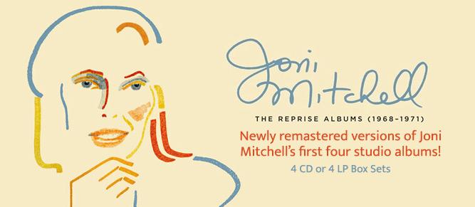 Joni Mitchell - The Reprise Albums