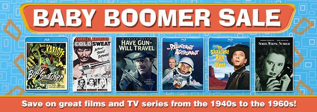 Baby Boomer Movie Sale