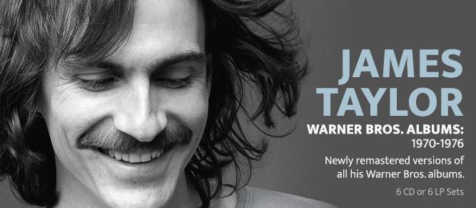 James Taylor - Warner Bros. Albums