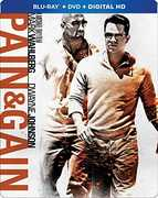 Pain & Gain (Steelbook) , Mark Wahlberg