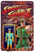 Super7 - ReAction - Street Fighter II Championship Edition ReAction Figures - M.Bison