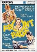 The Front Page , Adolphe Menjou