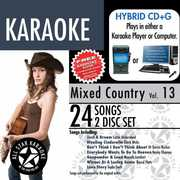 Mixed Country With Karaoke Edge, Vol. 13