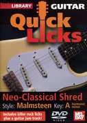 Quick Licks: Yngwie Malmsteen Neo-Classical Shred - Key: A , Andy James