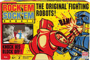 Mattel Games - Rock Em' Sock Em' Robots