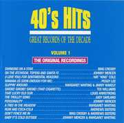 40's Pop Hits 1 /  Various