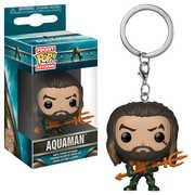FUNKO POP! KEYCHAIN: Aquaman - Arthur Curry as Gladiator