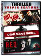 Thriller Triple Feature: Outlaw /  Dead Man's Shoes /  Red , Paddy Considine