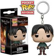 FUNKO POP! KEYCHAIN: Attack On Titan - Levi